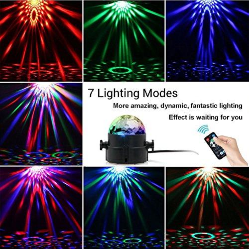 [Amazon-Prime] Discokugel LED Birne Discolicht Partylicht mit 7 verschiedene Farben für 8,49 Euro