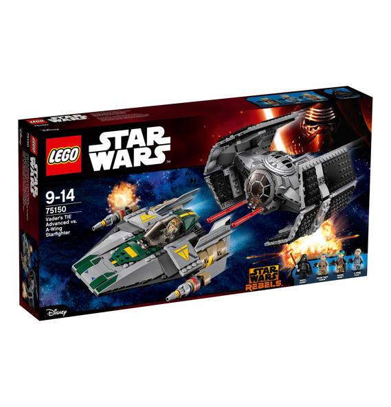 Lego Star Wars Vader's TIE Advanced vs. A-Wing Starfighter 75150 für 44,99€ bei Abholung @GALERIA Kaufhof