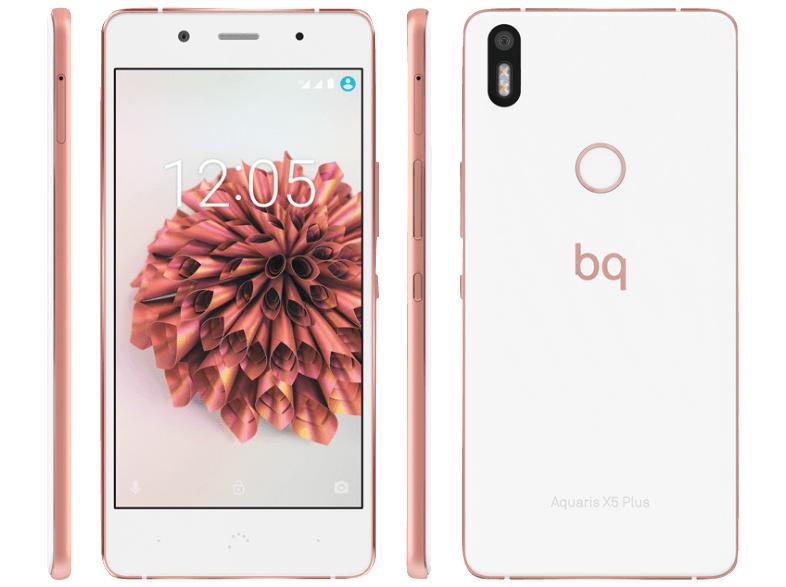 "[Mediamarkt] BQ Aquaris X5 Plus 32GB 3GB RAM  Rosé [12,7cm (5"") FHD Display, 1,8 GHz Octa-Core, 3200mAh, Dual-Sim, Update Android 7.1.1] für je 199,-€ Versandkostenfrei"
