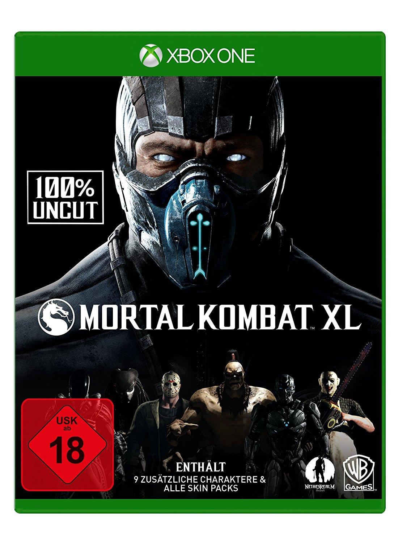 Mortal Kombat XL 100% Uncut (Xbox One) für 16€ versandkostenfrei (Media Markt)