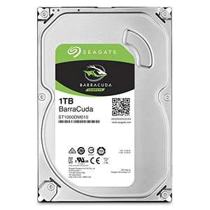 [Amazon] Seagate Barracuda 1 TB Interne Festplatte (3,5 Zoll, SATA 6Gb/s)