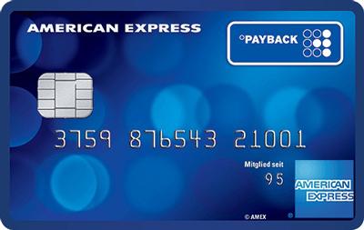 PAYBACK American Express Kreditkarte dauerhaft kostenlos + 4.000 Punkte (40€ KWK)
