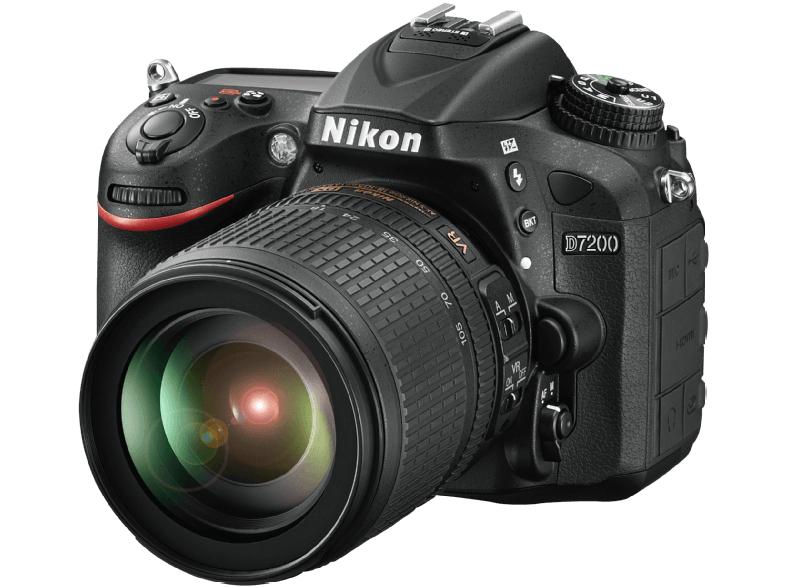 NIKON D7200 + 18-105mm ED VR für 965€ [mediamarkt.at]