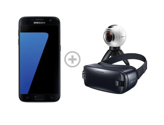 Samsung Galaxy S7 oder S7 Edge + Gear VR und Gear 360 für 599/699€