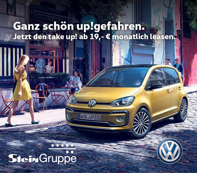 [Gewerbeleasing] VW take up! 1,0l für 45,39€ Netto inkl. Anzahlung usw. pro Monat Leasing-Faktor 0,226 / 0,41