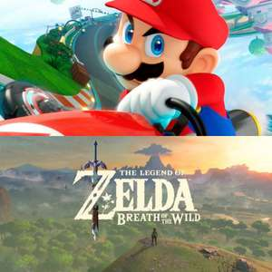 The Legend Of Zelda: Breath Of The Wild (Switch) & Mario Kart 8 Deluxe (Switch) für je 39,99€ (Müller + Amazon)