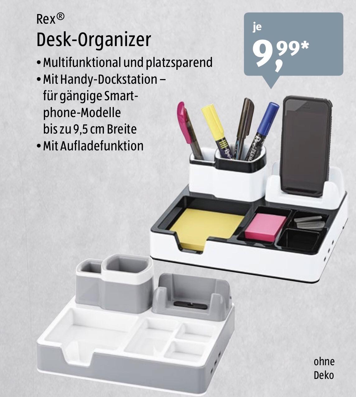 [Aldi-Süd] Desk-Organizer mit Handy-Dockstation ab 3.7.2017