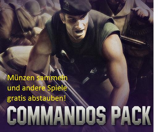 Commandos Paket @ Chrono.gg]  !!ABGELAUFEN!! Außerdem Vorstellung der Coin Sammelaktion durch die man Spiele gratis abstauben kann >>gilt unbefristet<