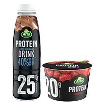 Arla Protein-Quark 200g für 0,19€ // Arla Protein-Milkshake 225ml 0,39€ (Angebot + Coupon)  [SBK]
