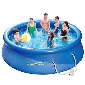 [ebay.de] Summer Waves Fast Set Quick Up Pool 366x91cm Pool mit Filterpumpe durch Gutschein für 67,96 !
