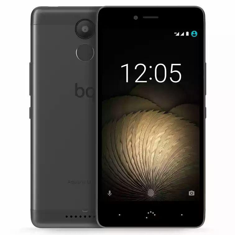 "BQ Aquaris U Plus 32GB 3GB RAM Schwarz/Anthrazit [12,7cm (5"") HD-Display, Android 6.0.1, 1,4 GHz Octa-Core CPU, 16MP Kamera], (nur 132.98,- bei 0% Finanzierng) nbb"