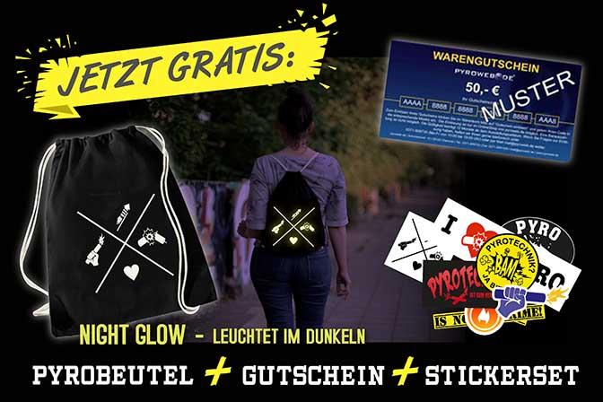 PyroBeutel, 20€-Gutschein und Stickerset kostenfrei für Umfrageteilnahme