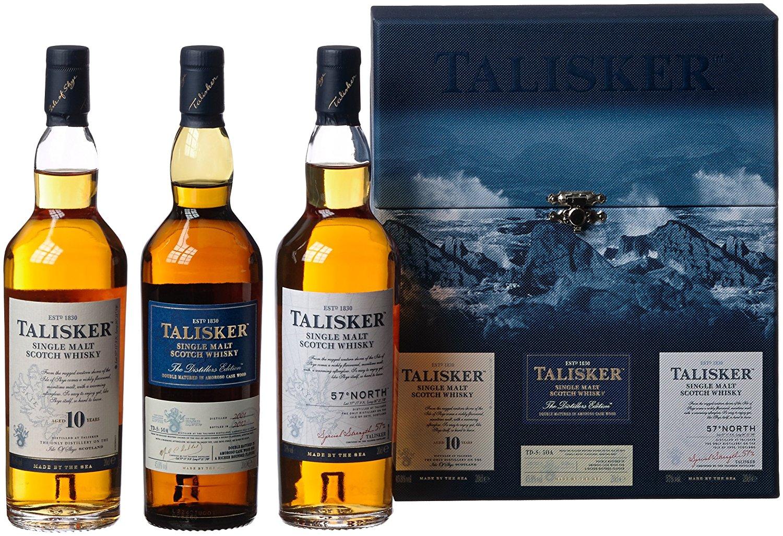 [Amazon.de] Whisky Sammeldeal (besonders interessant: Talisker 3x 0,2l Geschenkbox)