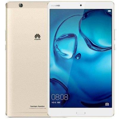 Huawei MediaPad  M3 128GB (BTV-W09), WiFi-Tablet, 8,4'' QHD IPS, 2,3GHz Kirin 950 Octa-Core, 4GB RAM, ***128GB SPEICHER***, GPS, 5100mAh, Android 6 -> 7) für 320,39€ [Gearbest]