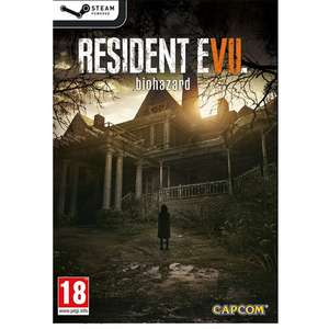 Resident Evil 7: Biohazard (Steam) ab 17,43€ (Play-Asia)