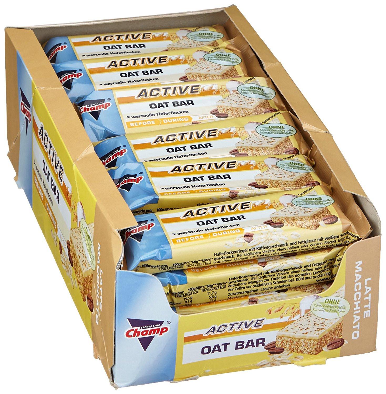 Oat Bar - 24x60g Energieriegel - Latte-Macchiato für 6,99€ (Vitafy)