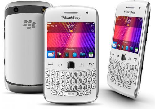 Blackberry Curve 9360 in weiß, QWERTZ Tastatur @notebooksbilliger - Update: nochmals 5 Euro billiger