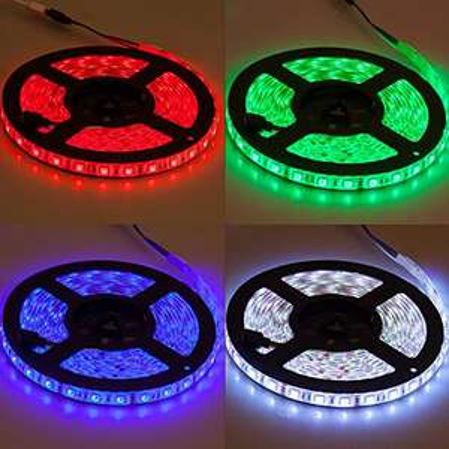[Amazon.de] 5 Meter LED Leiste, 150 LEDs, Kürzbar, 2 A, 12 V, auch als Hintergundbeleuchtung mit Fernbedienung
