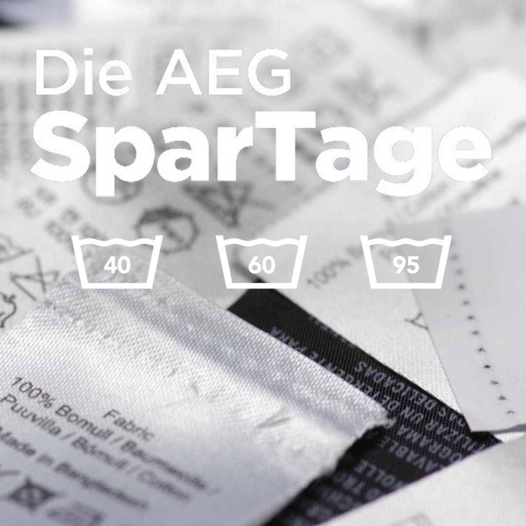 AEG SparTage bei ao - z.B. 140er Kühl-/Gefrierkombi für 299 € statt 379 €