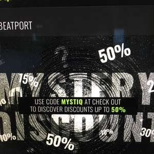 Beatport Mystery Coupon