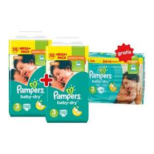 4 x Pampers Baby Dry Mega Pack 2x Sparpack bei Netto