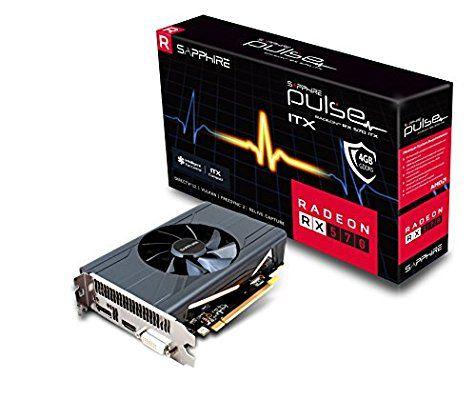 Sapphire AMD Radeon RX 570 ITX 4GB Grafikkarte HDMI/DP/DVI-D @Amazon.it vorbestellung