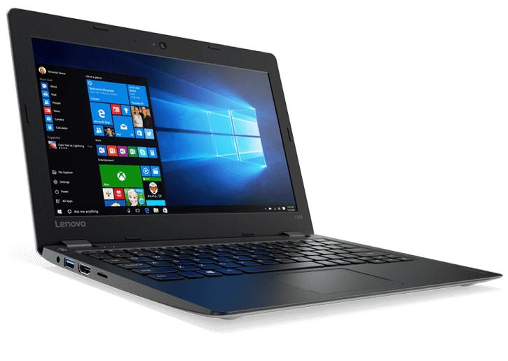 "Lenovo Ideapad 110s (silber) - 11,6"" Notebook mit N3710, 4GB RAM, 256GB SSD, Kein OS"