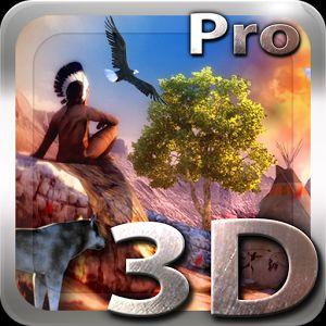 [Android] Native American 3D Pro, Africa 3D Pro & Tropical Ocean 3D Live Wallpaper für 0 statt je 1,19€