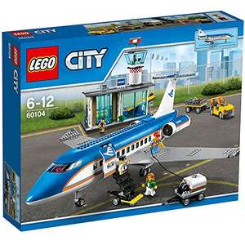 [Amazon] Lego City 60104 - Flughafen-Abfertigungshalle für 64,11 Euro