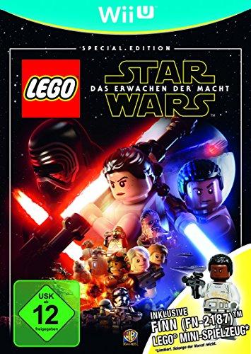 LEGO Star Wars: Das Erwachen der Macht Special Edition (inkl. Finn Lego-Mini-Figur) (Wii U) für 8,14€ (Amzon Prime)