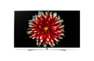 "[Gamingoase] LG OLED65B7D Smart-TV 164cm 65 Zoll OLED 4K UHD A DVB-T2/C/S2 (Silber) OLED TV 4K, 165.1 cm (65 "") , 3840 x 2160, DVB-C/T2 HD/S, Magic Remote, Smart TV, WebOS 3.5, WiFi Direct, WiDi, DLNA"