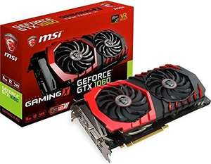 MSI GeForce GTX 1060 Gaming X 6G + 20 € Cashback @ Amazon.co.uk