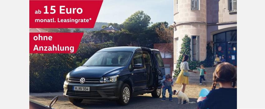 [Privatleasing] VW Caddy für 15€ / Monat für 18 Monate bei Inzahlungnahme eines alten Caddy *UPDATE*