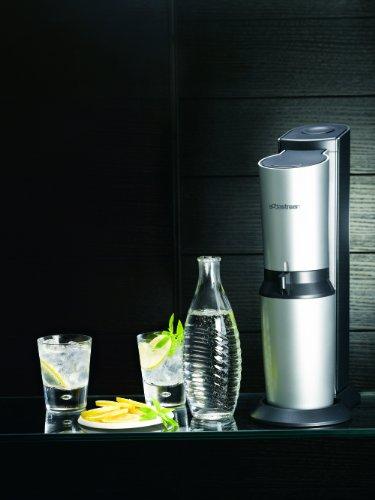 SodaStream Wassersprudler-Set (1x CO2-Zylinder 60L und 2x 0,6L Glaskaraffen)