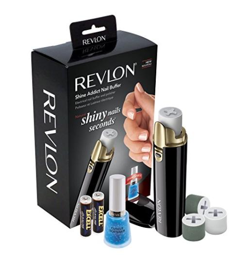 """Nagelpolierer Revlon """"Shine Addict Nail Buffer"""" mit 2 Ersatzrollen inkl. Batterien für 10€ statt 28€ @Mediamarkt"""
