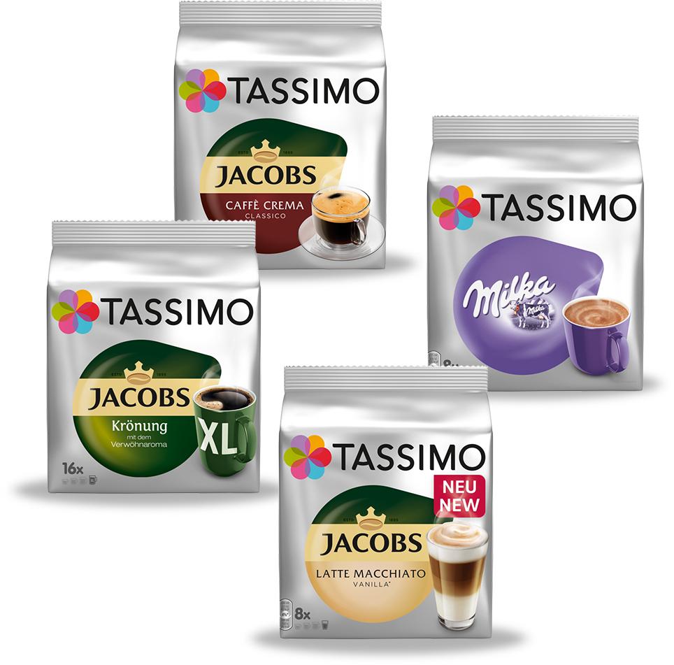 4x Tassimo für effektiv 1,07€