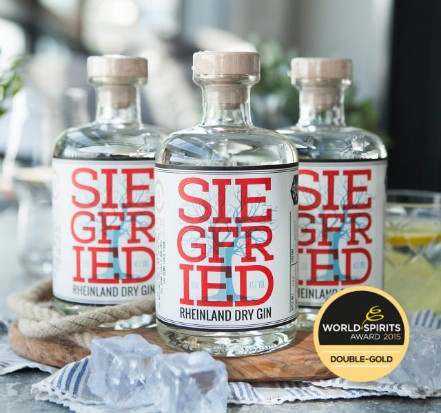 3x Siegfried Rheinland Dry Gin 0,5l bei [Foodist] je 21,63€ oder 3 x Brick Bio Gin 0,5l 12,63€ je Flasche