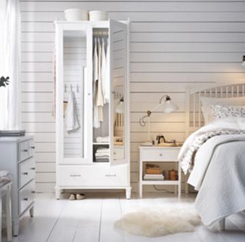 Kleiderschränke und -aufbewahrung reduziert bei Ikea, z.B. Tyssedal für 249€ statt 299€