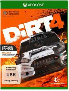 DiRT 4: Day One Edition (PS4 & Xbox One) für je 47,99€ (Müller)