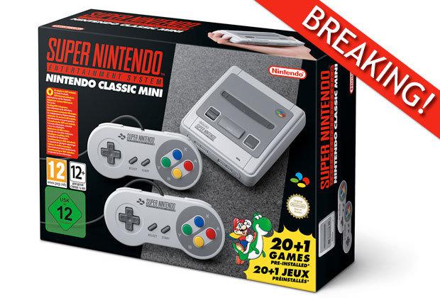 Amazon.de - Super NES Classic Mini Vorbestellen