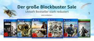 Amazon Blockbuster Ubisoft Sale
