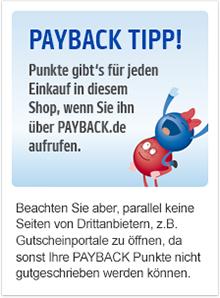 7fach Punkte bei EMP dank Payback