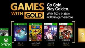 Xbox Games with Gold Juli - GROW UP, Runbow, Kane & Lynch 2, LEGO Pirates of the Caribbean