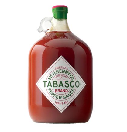 3,78 Liter Tabasco | 39,99€ | 2 Sorten