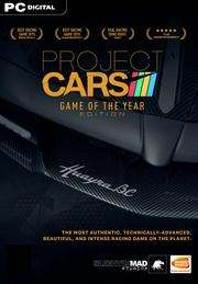 Project CARS – Game of the Year Edition (Steam) für 11,44€ (GamersGate UK)