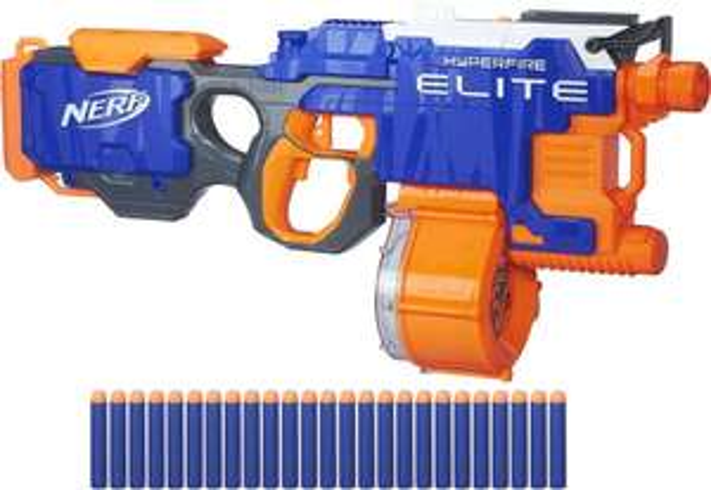 Nerf N-Strike Elite - Hyper-Fire Blaster [offline Kaufland ab 29.06]