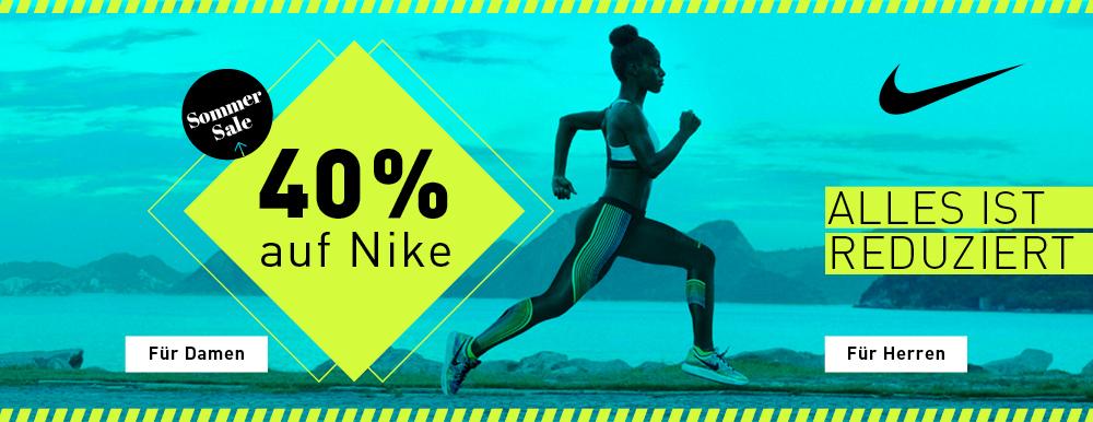 40 % auf alles von NIKE @my-sportswear.de (Schuhe und Bekleidung)