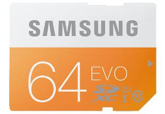 [Mediamarkt] SAMSUNG EVO SDXC Speicherkarte 64 GB, versandkostenfrei 15,66€