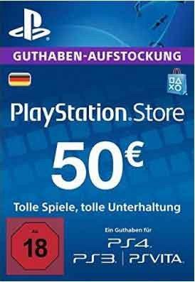 PlayStation Store geht inflationär 16% Sparen beim kauf einer Gutscheinkarte