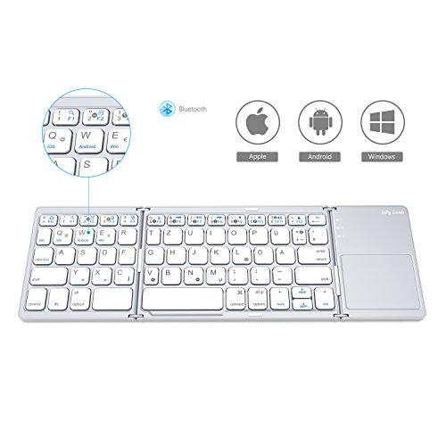 Faltbare Bluetooth Tastatur z.B. für Android TV Box, Handy, etc.